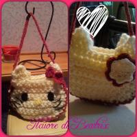 Tutorial Borsetta Hello Kitty all'uncinetto